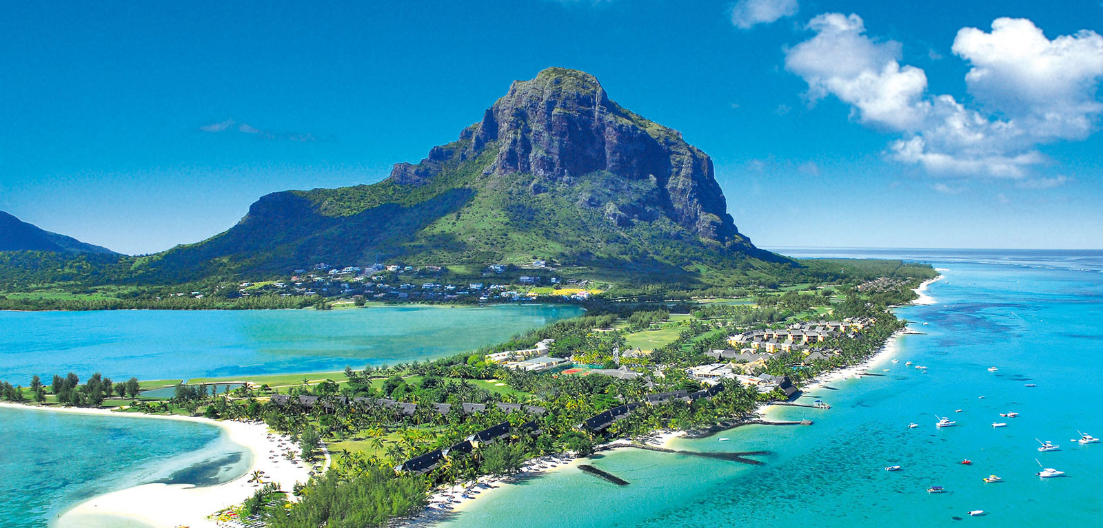 mauritius island - The Dove Villa Location